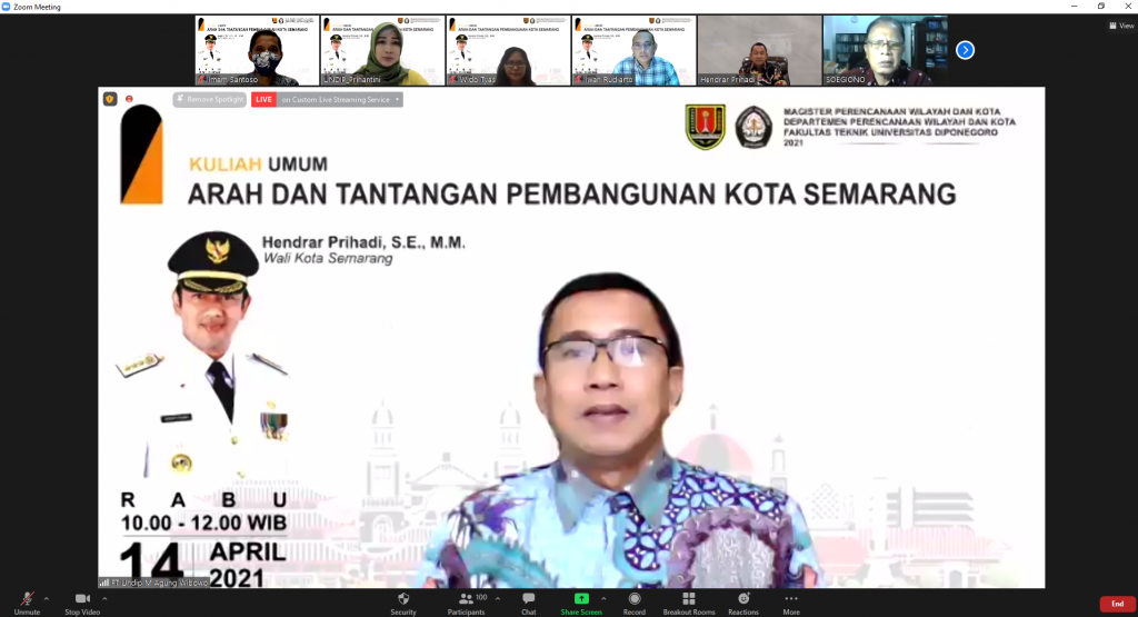 Directions and Challenges of Semarang City Development