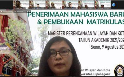 PENERIMAAN MAHASISWA BARU MPWK UNDIP