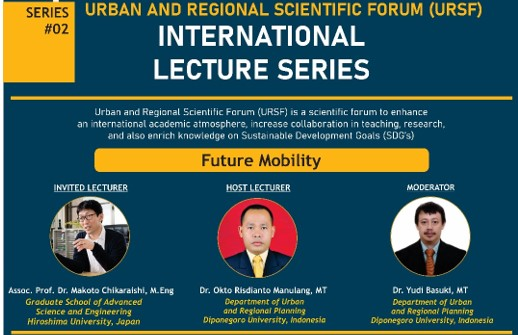 INTERNATIONAL LECTURE SERIES 2021 SERIES #02 FUTURE MOBILITY